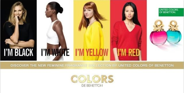 We are colors de nieuwe parfumcollectie van benetton for Benetton we are colors