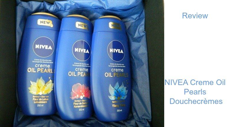 Review- NIVEA Creme Oil Pearls Douchecrèmes — BeautyByBabs