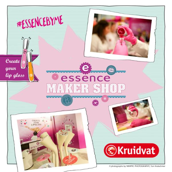 Maak je eigen lipgloss in het essence lab en make up voor for Kruidvat alexandrium
