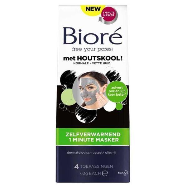 Biore Self Heating 1min Masker