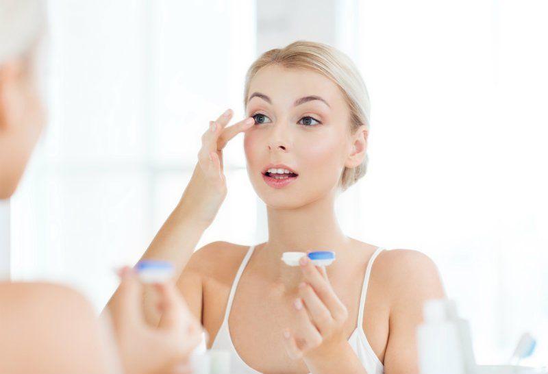 lenzen en makeup