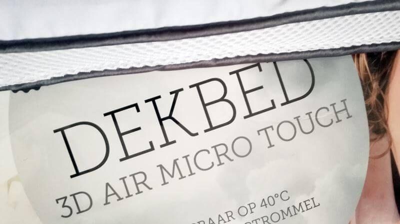 air micro touch dekbed