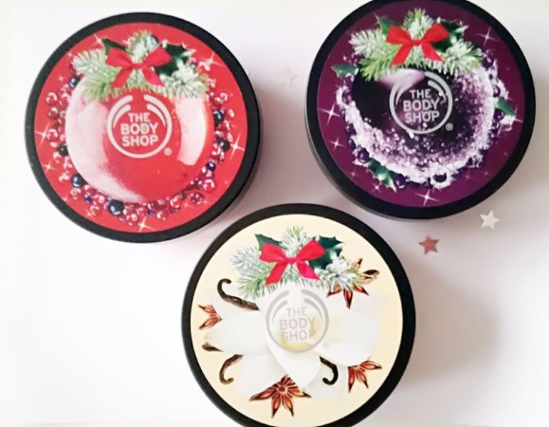 body butters the body shop