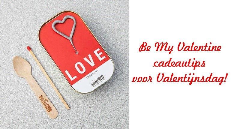 Be My Valentine- cadeautips voor Valentijnsdag! 11 valentine Be My Valentine- cadeautips voor Valentijnsdag!