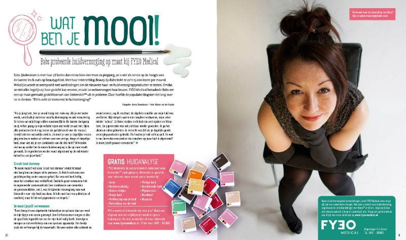 Interview Content Magazine FRYEO Medical