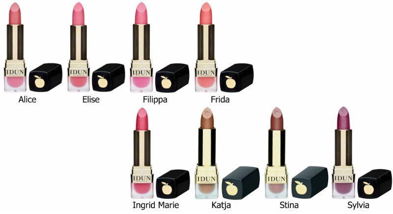 IDUN Minerals Lipsticks Creme