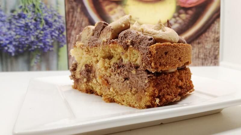chocolade pindakaas taart