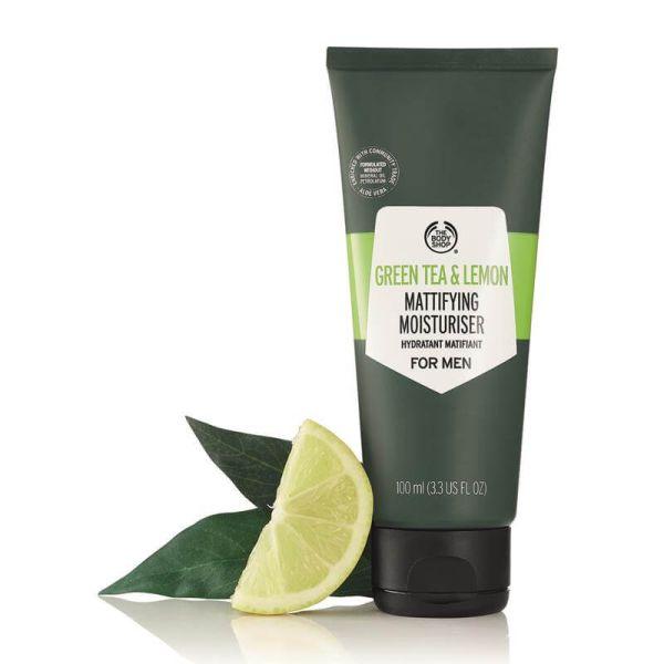 The Body Shop Green Tea and Lemon Mattifying Moisturiser 2 -