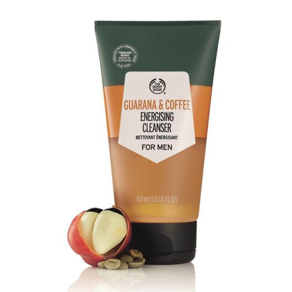 The Body Shop Guarana and Coffee Energising Cleanser 2