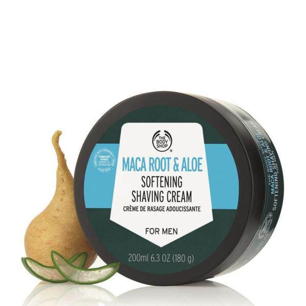 The Body Shop Maca Root & Aloe Softening Shaving Cream 3