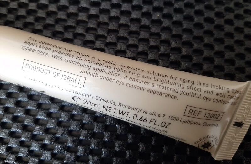Review: Hyaluronic Acid Eye Power Cream 12 hyaluronic acid Review: Hyaluronic Acid Eye Power Cream